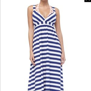 NWT Old Navy Maxi Dress with Cross Back Size S